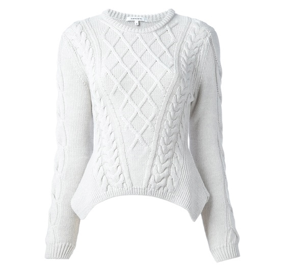 CARVEN chunky knit sweater
