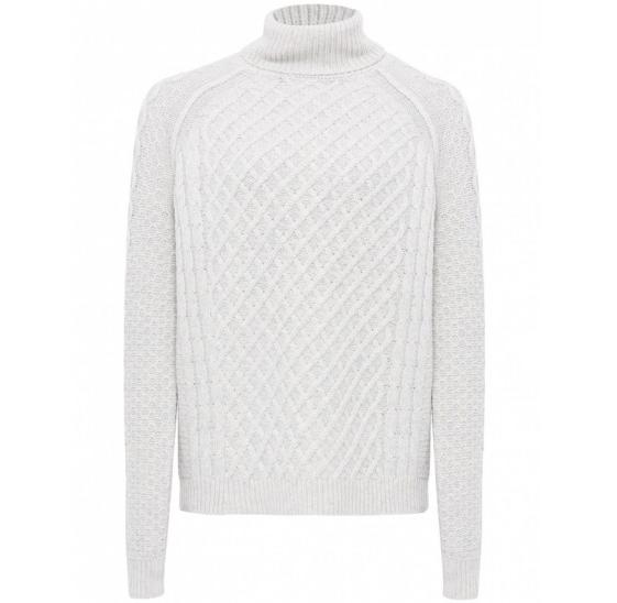 Vince Cable Knit Turtleneck Sweater