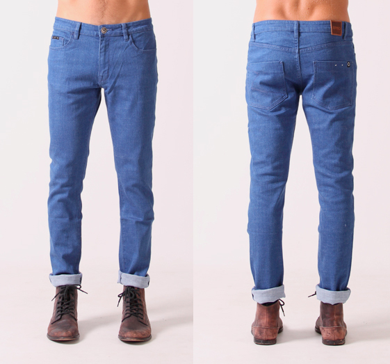 RPM Apparel Co Blue Rebel Jean